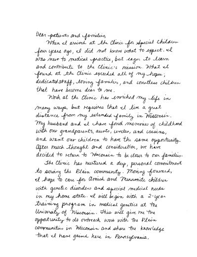thumbnail of Katie's Goodbye Letter